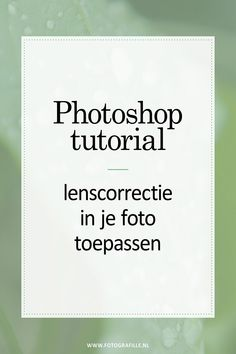 tutorial - schaduwen & hooglichten in Photoshop - Fotografille