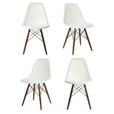 Instantly turn your living quarters into a place for comfortable relaxation with this beautiful dining chair set. Constructed of heavy duty polypropylene seats in matte finish, this stylish chair set is perfect for dining room, home office, training room, play area or any other settings.