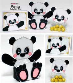 My Scrap Chick - Panda Belly Box Trio
