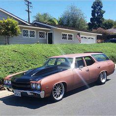 '70 Chevelle wagon......Badass!