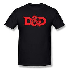 LIMEI Men's Dungeons And Dragons D&D Logo Short Sleeve Shirt Black XS MTEEMLEE http://www.amazon.com/dp/B015U59J8S/ref=cm_sw_r_pi_dp_WYDTwb0MX9D1J