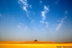 Red Pyramid at Dahshur is a 2 hour ride from Cairo
