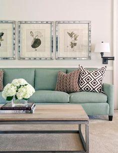 Linda a cor do sofá