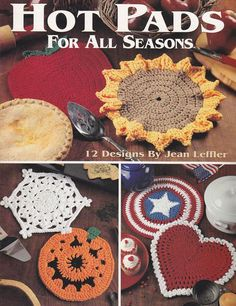 Hot Pads Crochet Patterns for All Seasons