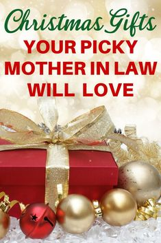 Christmas Gifts for Mother in Law - Looking for awesome Christmas gift ideas for your mother in law? Click to see over 50 Christmas gifts that even the pickiest woman will love! #giftsforher #Christmasgifts