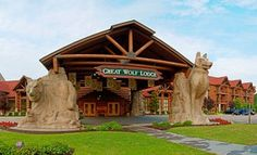 Great Wolf Lodge - Click image to find more Travel & Places Pinterest pins