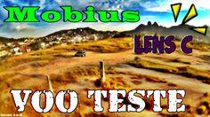 Voo fim de tarde teste mobius lens C