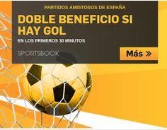 el forero jrvm y todos los bonos de deportes: betfair doble cuota España vs Corea 1 junio