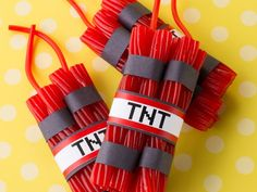 Your game-loving party-goers will have a blast when they dig into these TWIZZLER-iffic goodies. Candy is the centerpiece of any child's birthday party, and this unforgettable DIY craft is the icing on the cake!