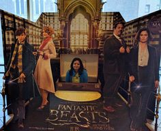 Loved the movie  another imagination-tickling fantasy adventure from J.K Rowling! My favorite dialogue from the movie Jacob Kowalski: I don't think I'm dreaming. Newt Scamander: What gave it away? Jacob Kowalski: I ain't got the brains to make this up.  #ruchyum #ruchyuminspirations #harrypotterfandom #fantasticbeasts #lovedit #movies #magicalworld