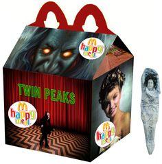"""""""Twin Peaks"""" Happy Meal"""