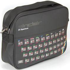 Sinclair ZX Spectrum Retro Style Messenger Shoulder Bag