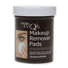 Andrea Eyeq'S Eye Make-Up Remover Pads - Moisturizing 65 Ea