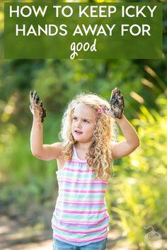 How to Keep Icky Hands Away for Good #ad #WishIHadAWetOnes