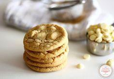 White callebaut cookies