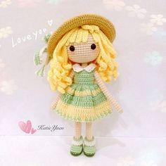 Mesmerizing Crochet an Amigurumi Rabbit Ideas. Lovely Crochet an Amigurumi Rabbit Ideas. Yarn Dolls, Knitted Dolls, Crochet Dolls, Amigurumi Patterns, Amigurumi Doll, Doll Patterns, Cute Crochet, Crochet Baby, Crochet Doll Pattern
