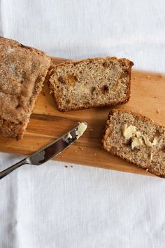 Ginger Banana Bread with Cardamom Crunch by fiveandspice #Banana_Bread #Ginger #Cardamom