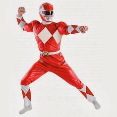 Disfraz de Power Ranger Rojo