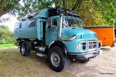 Mercedes Camper, Mercedes Benz Trucks, Overland Truck, Expedition Vehicle, 4x4 Trucks, Camper Caravan, Truck Camper, Vw Bus, Rv Motorhomes
