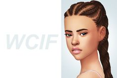 desertbloom said: WCIF THAT HAIR MY GOOD FRIEND Answer: Chanel Dutch Braids by @shespeakssimlish