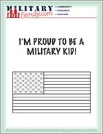 I am so proud of our military kid!
