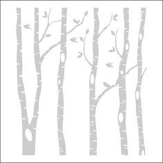 clipart vectoriel black and white vector birch tree silhouette rh pinterest com birch tree branches clipart birch tree background clipart