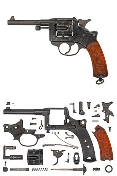 French Revolver Mle.1892