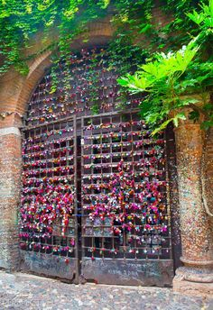 http://borglocks.com/ We thought we'd share this bright, colourful gate filled with padlocks located in Verona, Italy. Unit 9 Upminster Trading Park Warley Street Upminster RM14 3PJ
