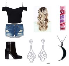 """""""Costume"""" by destinycopley13 ❤ liked on Polyvore featuring New Look, rag & bone, Miadora, Forever 21 and Carolina Glamour Collection"""