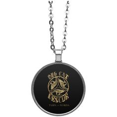 Oh! Oh! Oh! Love this new Leopard TriAngle ... Check it out! http://catrescue.myshopify.com/products/leopard-triangle-big-cat-rescue-circle-necklace?utm_campaign=social_autopilot&utm_source=pin&utm_medium=pin