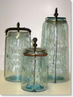 3 old jars