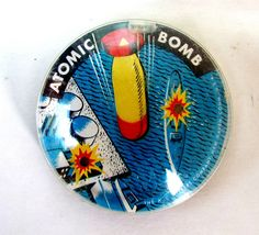 VINTAGE ATOMIC BOMB DEXTERITY GAME AC GILBERT NEW HAVEN WORLD WAR II #ACGilbert