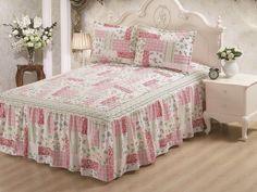 Hailey Panel Bed Skirt