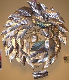 best aluminum can wreath
