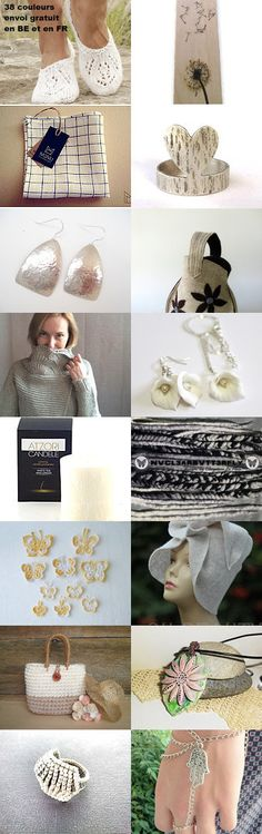 White and ... by Axelle BOSLER on Etsy--Pinned+with+TreasuryPin.com