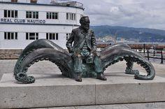 памятник в Виго