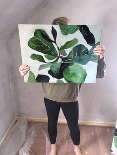 Leaf It To Me (20 x 24) $150