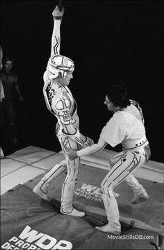Tron, cómo se hizo y fotos de rodaje de la mítica película de Disney