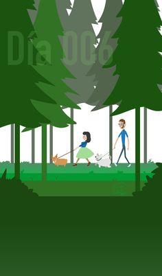 Daily006-Walk in the forest by TatsuZam.deviantart.com on @DeviantArt
