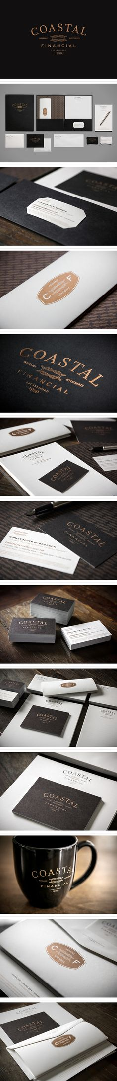 Coastal Financial identity by Blue Rock