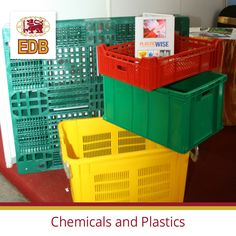 The chemical and plastic industry in Sri Lanka produces a range of raw chemical and plastic material and finished products for local and global markets Plastic Box Storage, Storage Boxes, Plastic Industry, Plastic Products, Plastic Material, Sri Lanka, Transportation, Safety, Industrial