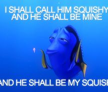 hahahah dory is the best