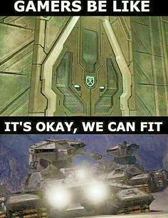 Halo | Gamers be like Video Game Memes, Video Games, Gamer 4 Life, Halo Game, Blue Angels, Gaming Memes, Funny Moments, Dragon Ball, Nerdy