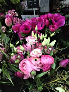 bouquet pastel#lisianthus#renoncule clone#tulipe