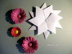 Origami, Fleurogami und Sterne: Freitag der 13., oder Uwe's Frimmeleien ......