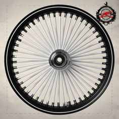 Fat Daddy Black Rim with White Spokes with the White Pinstripe done by Dave Zatezalo