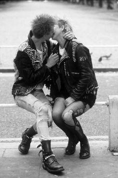 Photo by Nils Jorgensen 70s Punk, Punk Goth, Spitting Image, Punks Not Dead, Teddy Boys, Skinhead, Dark Fashion, Look Cool, Rock N Roll
