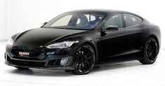 Brabus Tesla Model S Zero Emission Is Electrifying #Brabus #Geneva_Motor_Show