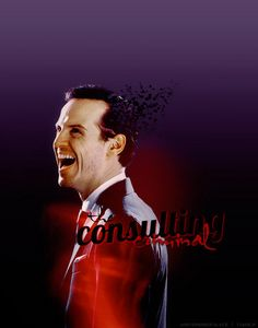 Sherlock Fan Art: Jim Moriarty