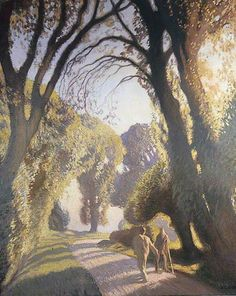The Road to Tilty by George Clausen